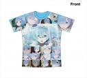 【グッズ-Tシャツ】Re:ゼロから始める異世界生活 フルグラフィックTシャツ レム LLサイズの画像