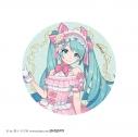 【グッズ-バッチ】VOCALOID 初音ミク BIG缶バッジ(鏡の国Ver.)ピンクの画像