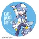 【グッズ-バッチ】初音ミク KAITO ハッピーバースデー BIG缶バッジの画像