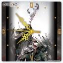 【グッズ-時計】オーバーロードⅢ アクリル掛時計 アインズの画像