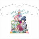 【グッズ-Tシャツ】ゆるキャン△ お花見キャンプ グラフィックTシャツの画像