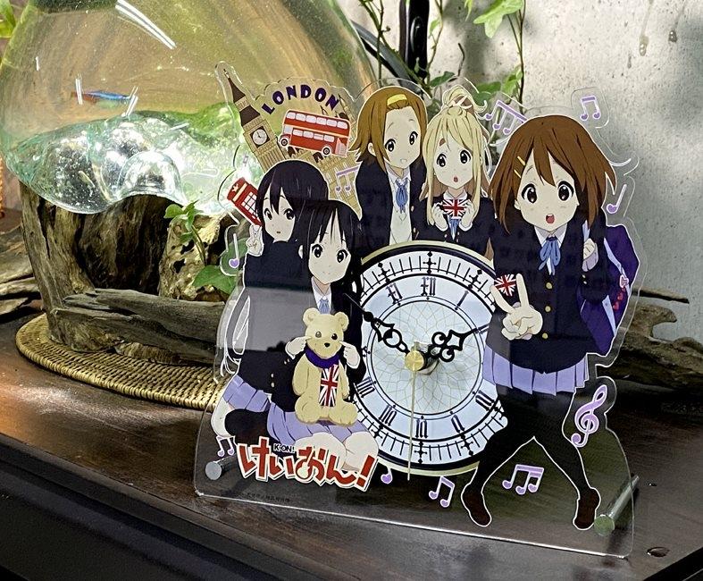 【グッズ-時計】けいおん! アクリル置時計
