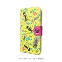 【グッズ-カバーホルダー】モブサイコ100 Ⅱ 手帳型スマホケース(iPhone6/6s/7/8兼用) 01/キャラちりばめデザイン(グラフアート)の画像