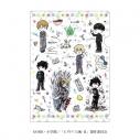 【グッズ-クリアファイル】モブサイコ100 Ⅱ クリアファイル 01/キャラちりばめデザイン(グラフアート)の画像