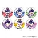 【グッズ-バッチ】えいがのおそ松さん 缶バッジ 02/ひな祭りVer. ブラインド(グラフアート)の画像