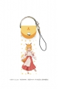 【グッズ-ストラップ】世話やきキツネの仙狐さん ビッグレザーストラップ 01/仙狐の画像