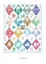 【グッズ-ミラー】白猫プロジェクト デカキャラミラー 03/ダイヤ柄デザイン(グラフアート)の画像
