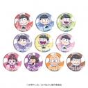 【グッズ-バッチ】おそ松さん 缶バッジ 07/ブラインド(グラフアート)の画像