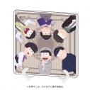 【グッズ-ボード】おそ松さん アクリルアートボード 02/集合デザイン 少年装ver.の画像