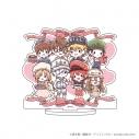 【グッズ-スタンドポップ】はたらく細胞!! キャラアクリルフィギュア 01 集合デザイン バレンタインver.(グラフアート)の画像