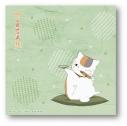 【グッズ-タオル】夏目友人帳 描き下ろし ニャンコ先生ハンドタオル(焼き鳥)の画像