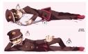 【グッズ-ピローケース】地縛少年花子くん 『描き下ろし』スムース抱き枕カバー 花子くんの画像