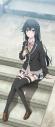 【グッズ-タペストリー】やはり俺の青春ラブコメはまちがっている。完 [描き下ろし]BIGタペストリー(階段) 雪乃の画像