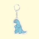 【グッズ-キーホルダー】ギャルと恐竜 「恐竜」アクリルキーホルダーの画像