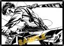 【グッズ-切り絵】進撃の巨人 キリトリエ リヴァイの画像
