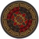 【グッズ-タオル】Fate/Grand Order -絶対魔獣戦線バビロニア- ラウンドタオル(エレシュキガル)の画像