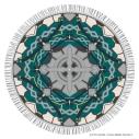 【グッズ-タオル】Fate/Grand Order -神聖円卓領域キャメロット- ラウンドタオル(ベディヴィエール)の画像