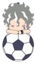 【グッズ-ポーチ】イナズマイレブン アレスの天秤 マスコットミニポーチ K.吉良ヒロトの画像