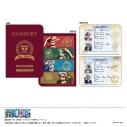 【グッズ-ノート】ONE PIECE パスポート風ノート (A ルフィ・ゾロ・サンジ・ロー)の画像