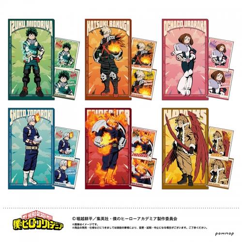 グッズ チケットファイル 僕のヒーローアカデミア チケットクリアファイルコレクション アニメイト