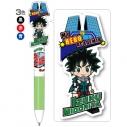 【グッズ-ボールペン】僕のヒーローアカデミア 3色ボールペン 緑谷出久の画像