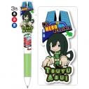 【グッズ-ボールペン】僕のヒーローアカデミア 3色ボールペン 蛙吹梅雨の画像