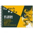 【グッズ-スケッチブック】僕のヒーローアカデミア 図案スケッチブック 轟 焦凍の画像