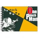 【グッズ-スケッチブック】ワンパンマン 図案スケッチブック サイタマの画像