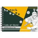 【グッズ-スケッチブック】はたらく細胞 図案スケッチブック 白血球(好中球)の画像