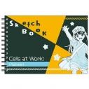 【グッズ-スケッチブック】はたらく細胞 図案スケッチブック 血小板の画像