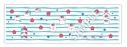【グッズ-手拭】劇場版 夏目友人帳 ~うつせみに結ぶ~ 手ぬぐい トリプルニャンコ先生(みずいろ)【アニメイト限定】の画像