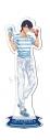 【グッズ-スタンドポップ】特価 新テニスの王子様 アクリルスタンド ハッピーサマーバレンタイン 忍足侑士【アニメイト限定】の画像