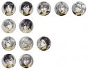 【グッズ-バッチ】アイドリッシュセブン 12 SONGS GIFT 缶バッジの画像
