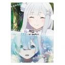 【グッズ-クリアファイル】Re:ゼロから始める異世界生活 シングルクリアファイル/ホワイトの画像