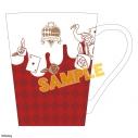 【グッズ-マグカップ】ディズニー ツイステッドワンダーランド マグカップ/ハーツラビュルの画像