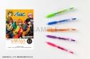 【グッズ-ボールペン】アルゴナビス from BanG Dream! AAside サラサクリップカラーボールペン 5本セット 風神RIZING! ver.の画像