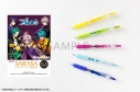 【グッズ-ボールペン】アルゴナビス from BanG Dream! AAside サラサクリップカラーボールペン 5本セット εpsilonΦ ver.の画像