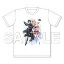 【グッズ-Tシャツ】ソードアート・オンライン 10周年キービジュアルTシャツの画像