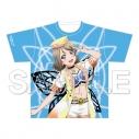 【グッズ-Tシャツ】ラブライブ!サンシャイン!! フルグラフィックTシャツ 渡辺曜 未体験HORIZONの画像