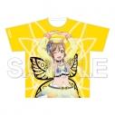 【グッズ-Tシャツ】ラブライブ!サンシャイン!! フルグラフィックTシャツ 国木田花丸 未体験HORIZONの画像
