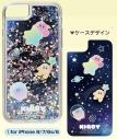 【グッズ-カバーホルダー】星のカービィ プププなミルキーウェイ シャカシャカiPhoneケース (1)for iPhone 8/7/6s/6の画像