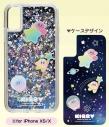 【グッズ-カバーホルダー】星のカービィ プププなミルキーウェイ シャカシャカiPhoneケース (2)for iPhone XS/Xの画像