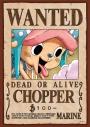 【グッズ-ジグソーパズル】ワンピース 208-039 手配書『トニートニー・チョッパー』の画像