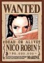 【グッズ-ジグソーパズル】ワンピース 208-040 手配書『ニコ・ロビン』の画像