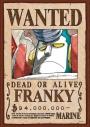 【グッズ-ジグソーパズル】ワンピース 208-041 手配書『フランキー』の画像
