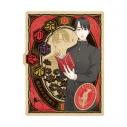 【グッズ-ステッカー】啄木鳥探偵處 トラベルステッカー (8)芥川龍之介の画像