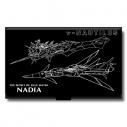 【グッズ-名刺ケース】ふしぎの海のナディア 名刺ケース (1)ノーチラス号の画像