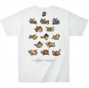 【グッズ-Tシャツ】モンスターハンター15th Tシャツ 歴代タイトルロゴ ホワイト XLの画像