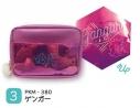 【グッズ-ポーチ】ポケットモンスター ディスコシリーズ ボックスポーチ ゲンガーの画像