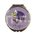 【グッズ-ミラー】ディズニー ツイステッドワンダーランド コンパクトミラー アニモチ ポムフィオーレ寮の画像